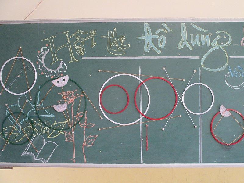 Trường THCS Chu Văn An: Ngày hội Đồ dùng Dạy học