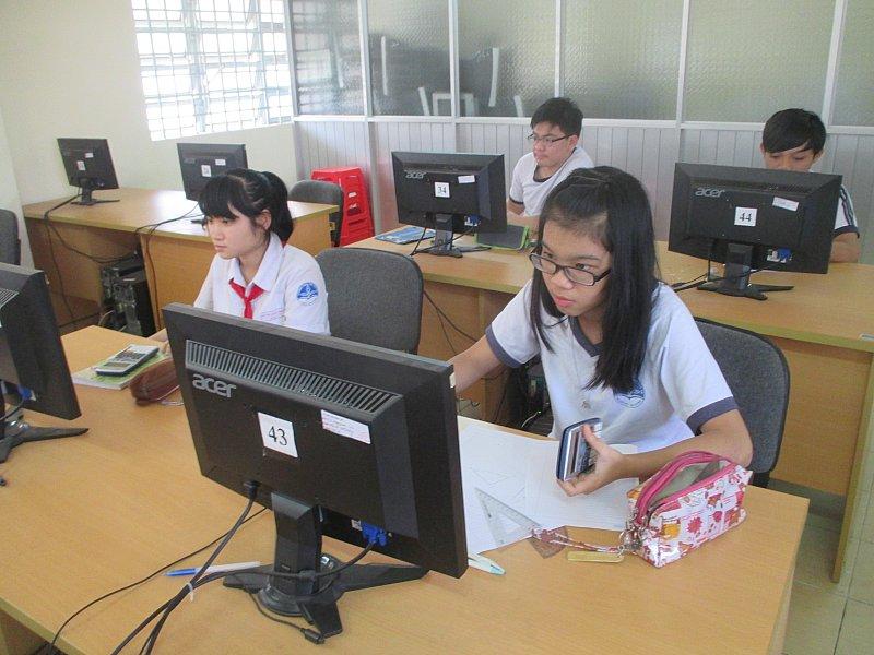 Trường THCS Chu Văn An:tổ chức tốt vòng thi Violympic - Giải toán trên Internet
