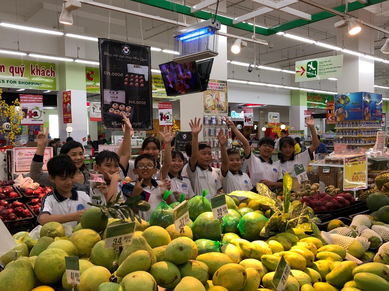 Tiết học thực tế tại siêu thị Big C